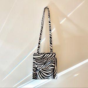 NWOT Y2K  Zebra Shoulder Bag